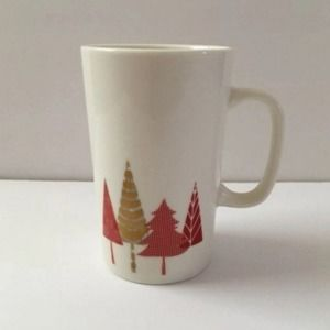 2017 Starbucks 16 Oz Holiday Tree Latte Tall Mug